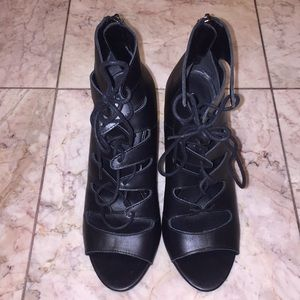 Chinese Laundry Lace-up Heels